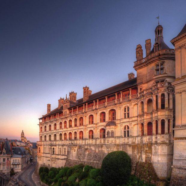 Королевский замок Блуа