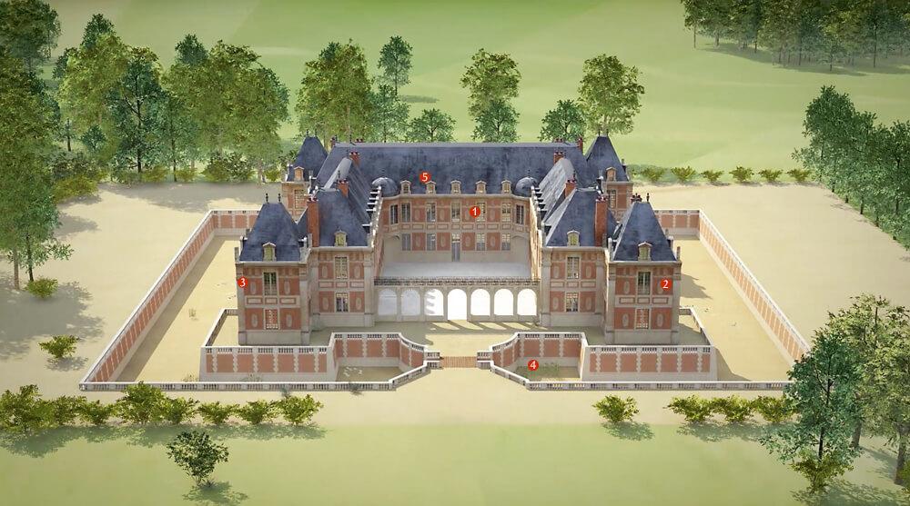 Versailles – Версаль. История замка и его парков, часть I