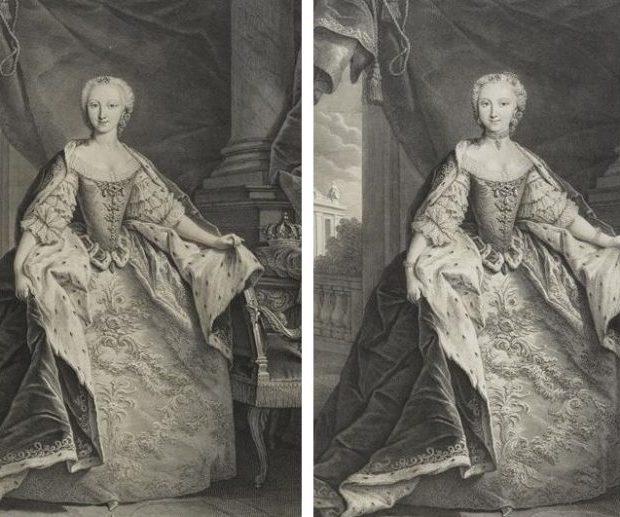 Две принцессы для одного портрета
