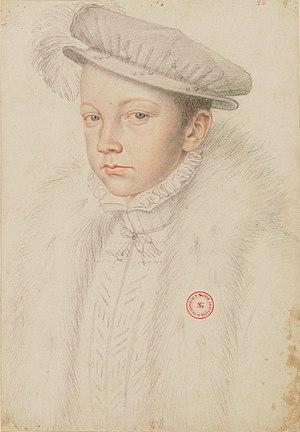 François II старший сын Екатерины Медичи