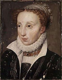 Клод Дё Франс, вторая дочь Медичи